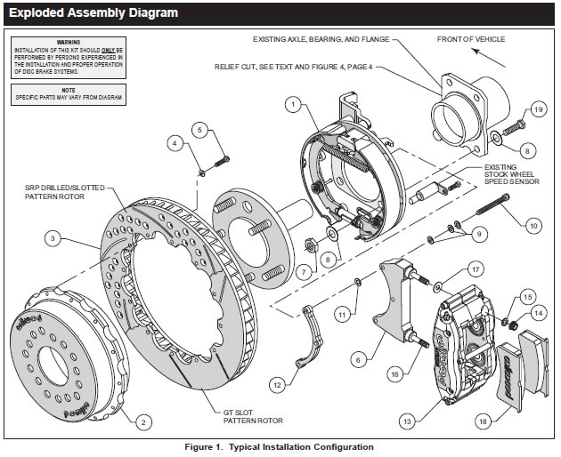 How to install a Wilwood Superlite Rear Brake Kit on your