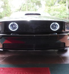 how to install ccfl halo foglights on your 2005 2009 mustang gt americanmuscle [ 1293 x 871 Pixel ]
