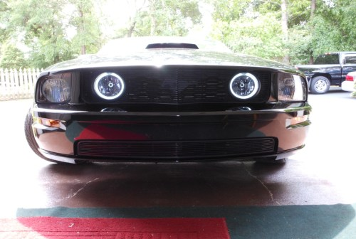 small resolution of how to install ccfl halo foglights on your 2005 2009 mustang gt americanmuscle