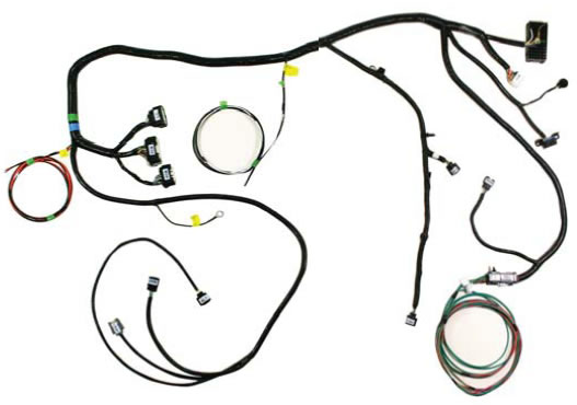 6 wire trailer plug wiring diagram briggs international how to install a ford racing coyote 5 0l 4v crate engine control 3 1 cowl harness