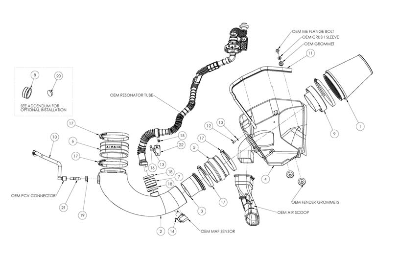 How to Install an Airaid Cold Air Intake on Your 2010