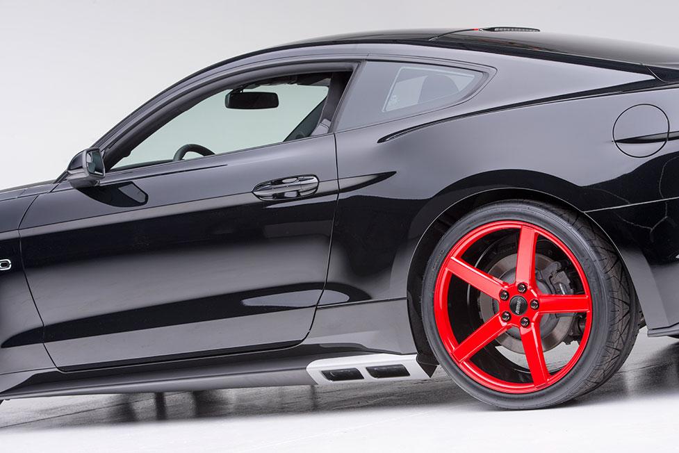 Future Mustang Interior