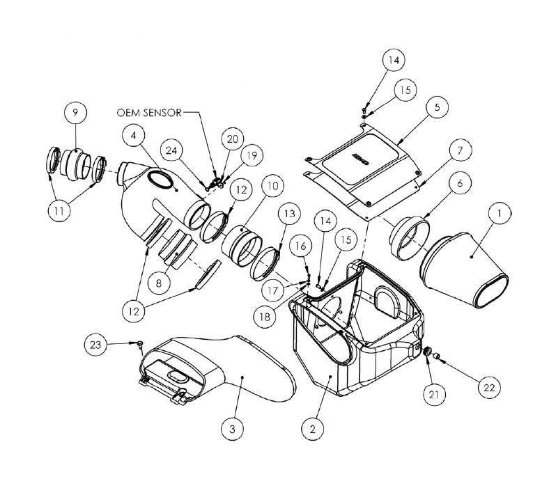 How to Install Airaid MXP Series Cold Air Intake w