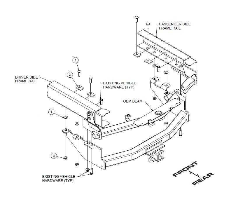 gmc trailer hitch wiring diagram