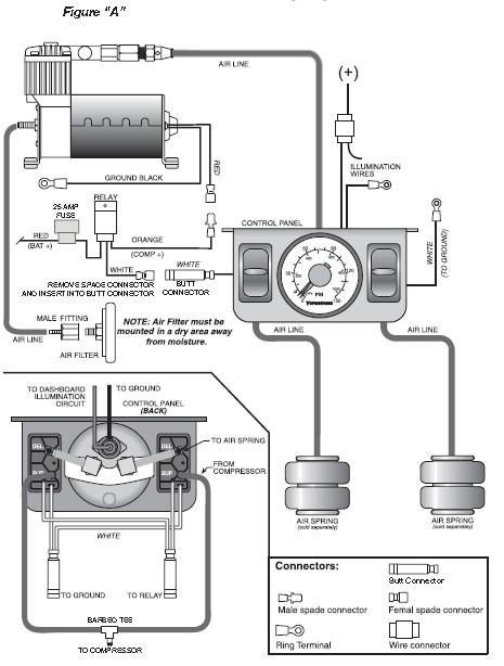 4 bag air suspension wiring diagram 2010 jeep wrangler