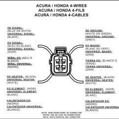 4 Wire Lambda Sensor Wiring Diagram 1983 Porsche 944 Radio Oxygen All Data Schematic Replacement