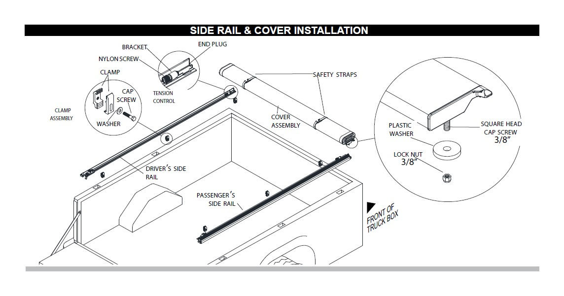 How to Install Truxedo Edge Soft Roll-Up Tonneau Cover (15