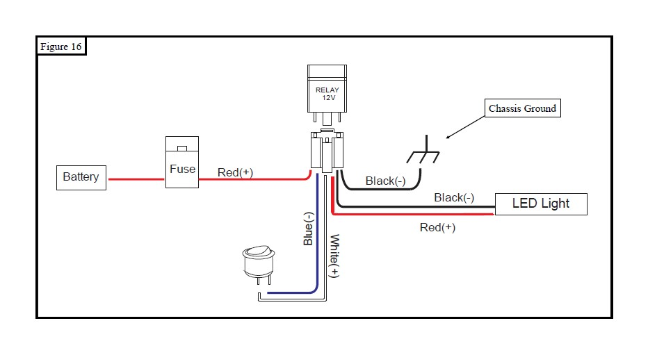Light Bar Relay Wiring Diagram Along With Stihl Chainsaw