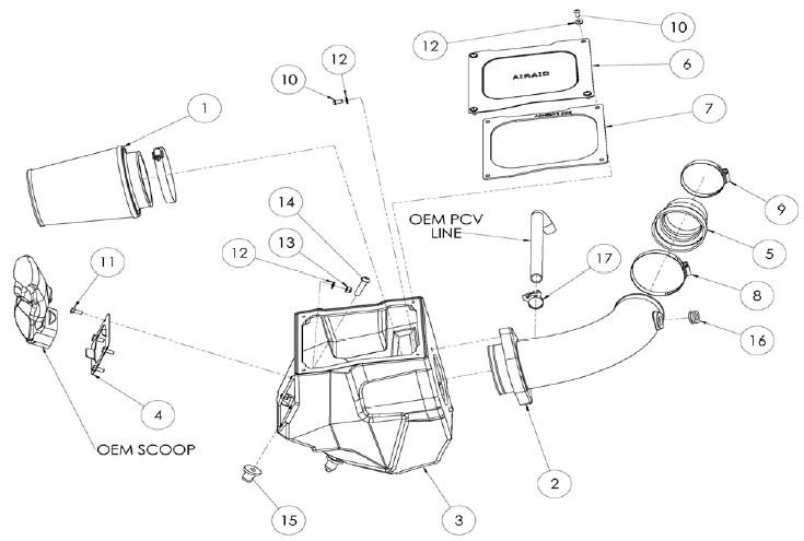 How to Install Airaid MXP Series Cold Air Intake