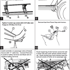 Amp Research Power Step Wiring Diagram 7 Way Trailer Plug With Electric Brakes Harness : 38 Images - Diagrams | Creativeand.co