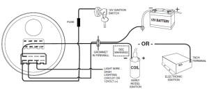 Auto Gauge Tach Wiring  Schematic Symbols Diagram