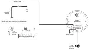 How to Install Auto Meter Programmable Speedometer Gauge