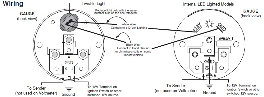 Led Wiring Diagram Of Voltmeter. Voltmeter Parts Diagram