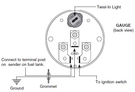 Automotive Voltmeter Wiring Diagram