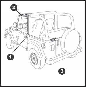 How to Install a Bestop Door Surround Kit on your 1997