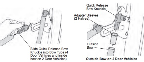 How to Install Bestop Soft Top Quick Release Knuckles on