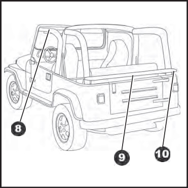 How to Install Bestop Soft Top Replace-A-Top with Tinted