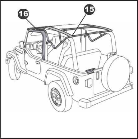 How to Install a Bestop Supertop NX on your 2004-2006 Jeep