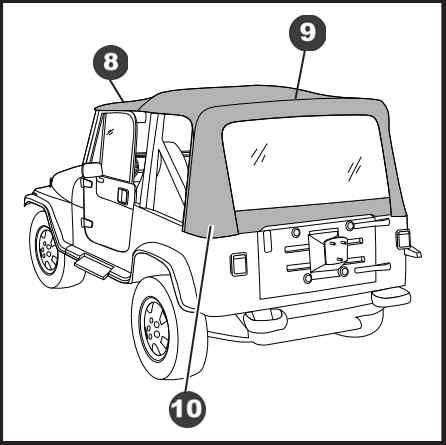 Jeep Wrangler Yj Doors Jeep YJ Full Size Doors Wiring