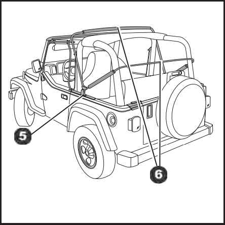 How to Install a Bestop Supertop Soft Top on your 1997