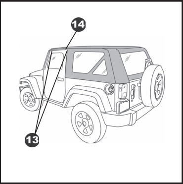 How to Install a Bestop Trektop on your 2007-2017 Jeep