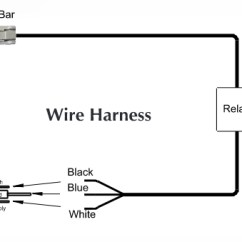 4 Pin Relay Wiring Diagram With Switch Plant Root Hair Cell Kc Lights Free For You How To Install Hilites Led Light Bar 10 In W Harness