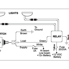 Kc Fog Light Wiring Diagram Viper Remote Start How To Install Hilites 2 Daylighter Lights 100w Long Range Relay
