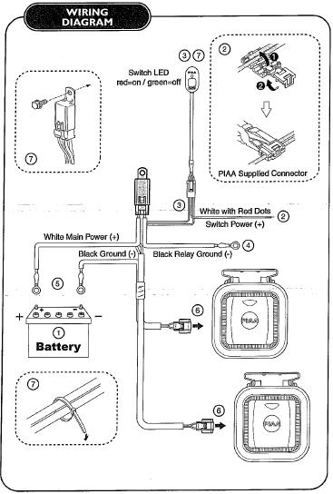 Wiring Diagram For Piaa LightsWiring Diagram