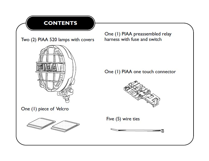 How to Install PIAA 520 Series 6 in. Round Chrome SMR