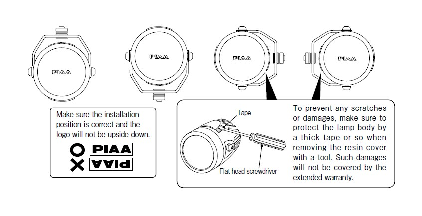 How to Install PIAA LP270 2.75 in. Round LED Lights