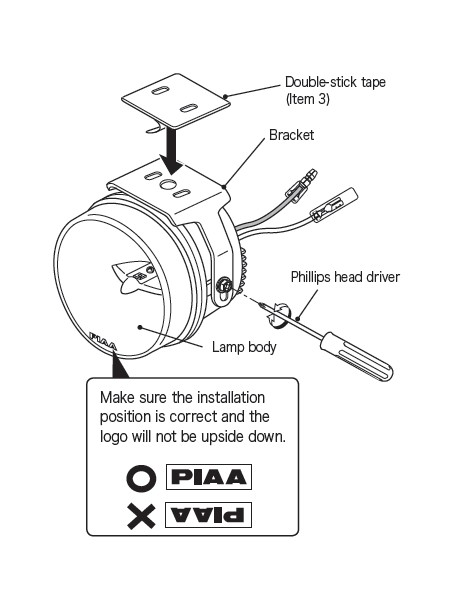 How to Install PIAA LP530 3.5 in. Round Ion Yellow LED