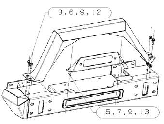 How to Install RedRock 4x4 Max-HD Full Width Front Bumper