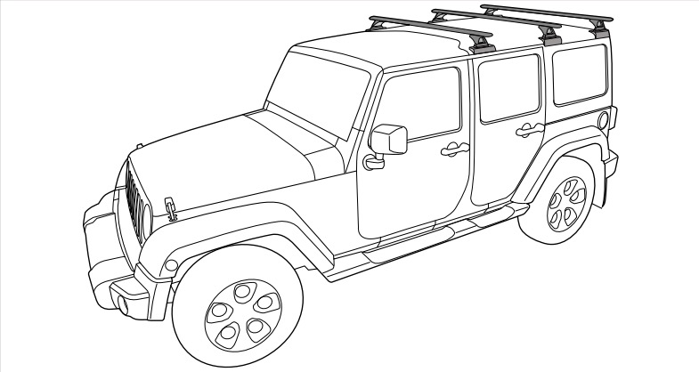 How to Install a Rhino-Rack RLCP Backbone Roof Rack on