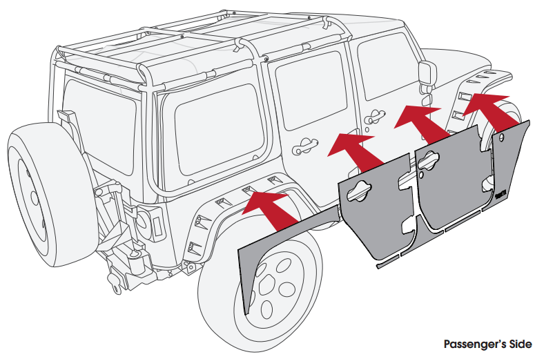 How to Install a Rugged Ridge Magnetic Protection Panel