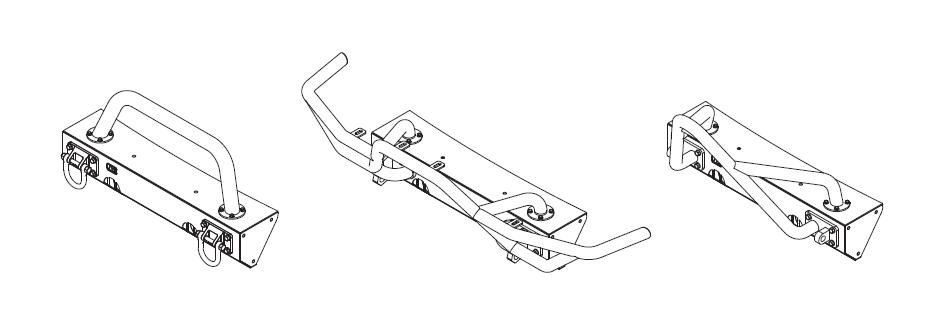 How to Install Rugged Ridge Bumper XHD SS w/o Winch Light