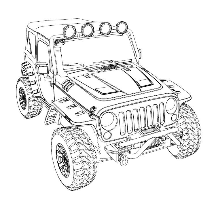 Jeep Tj Side View