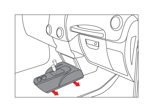 How to Install Rugged Ridge Lower Console Switch Panel (11
