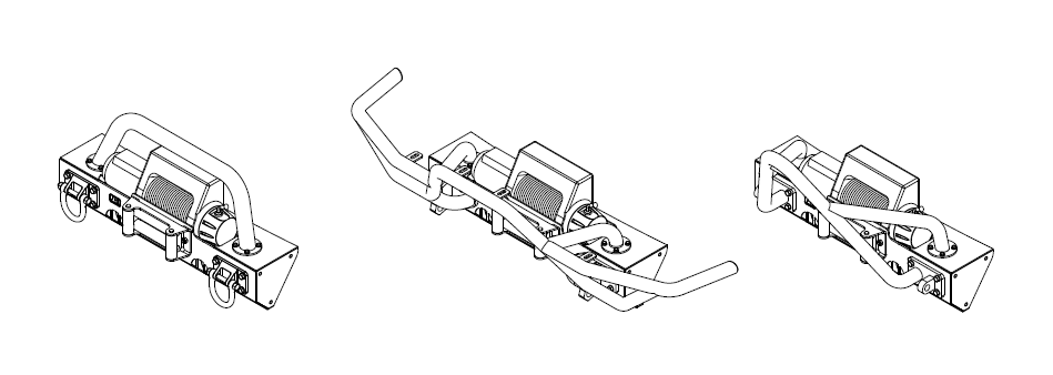 How to Install Rugged Ridge Modular XHD Front Bumper w