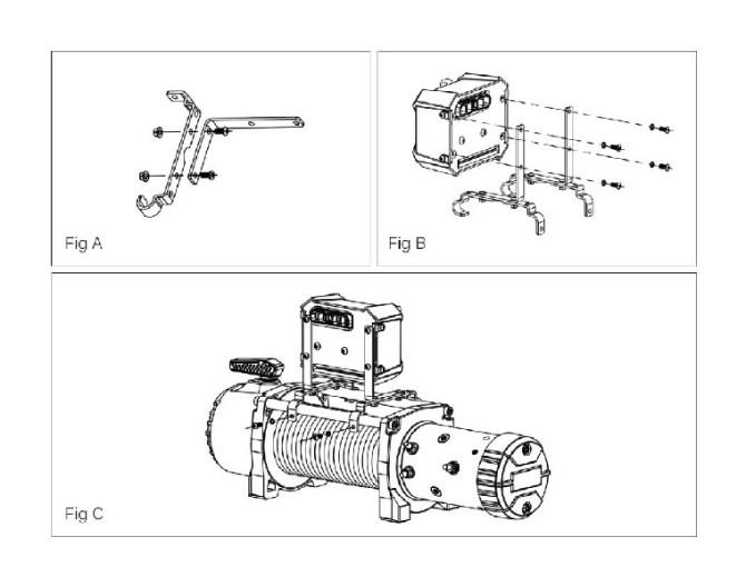 how to install rugged ridge nautic 9500 lb winch w/ steel