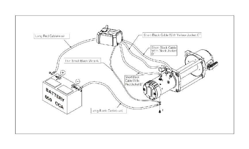 Auto X Winch Wiring Diagram