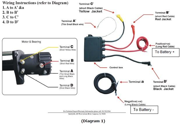 smittybilt winch switch wiring diagram