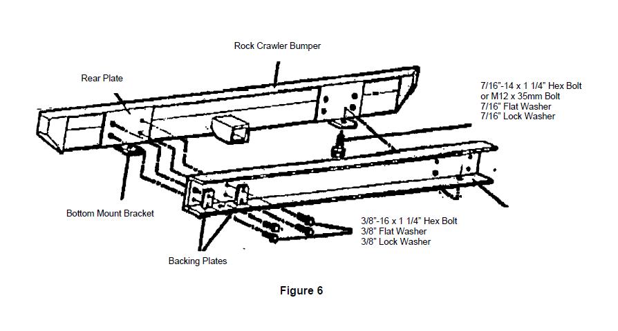 How to Install Smittybilt SRC Classic Rear Bumper w/D
