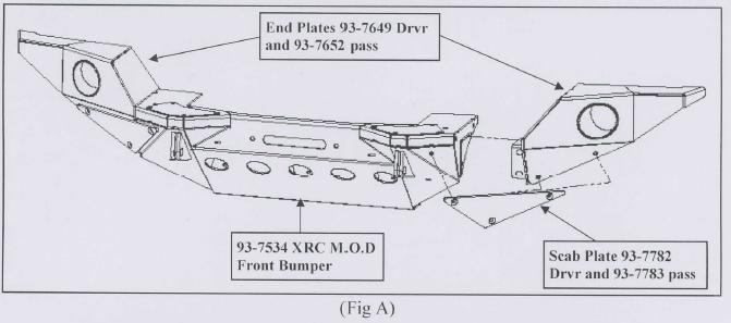 How to Install Smittybilt XRC M.O.D. Full Width End Caps