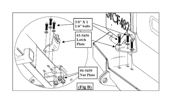 How to Install a Smittybilt Textured Black XRC Rear Swing