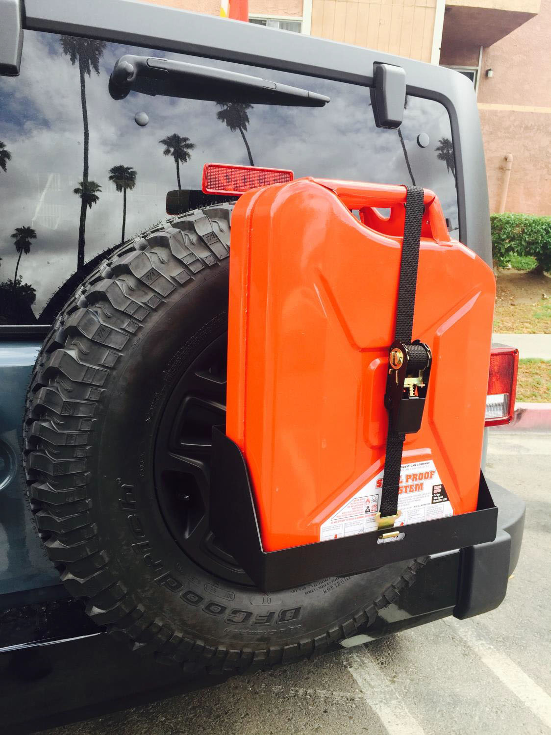 Spare Tire Jerry Can Mount : spare, jerry, mount, Install, MORryde, Spare, Jerry, Holder, 1987-2017, Wrangler, ExtremeTerrain
