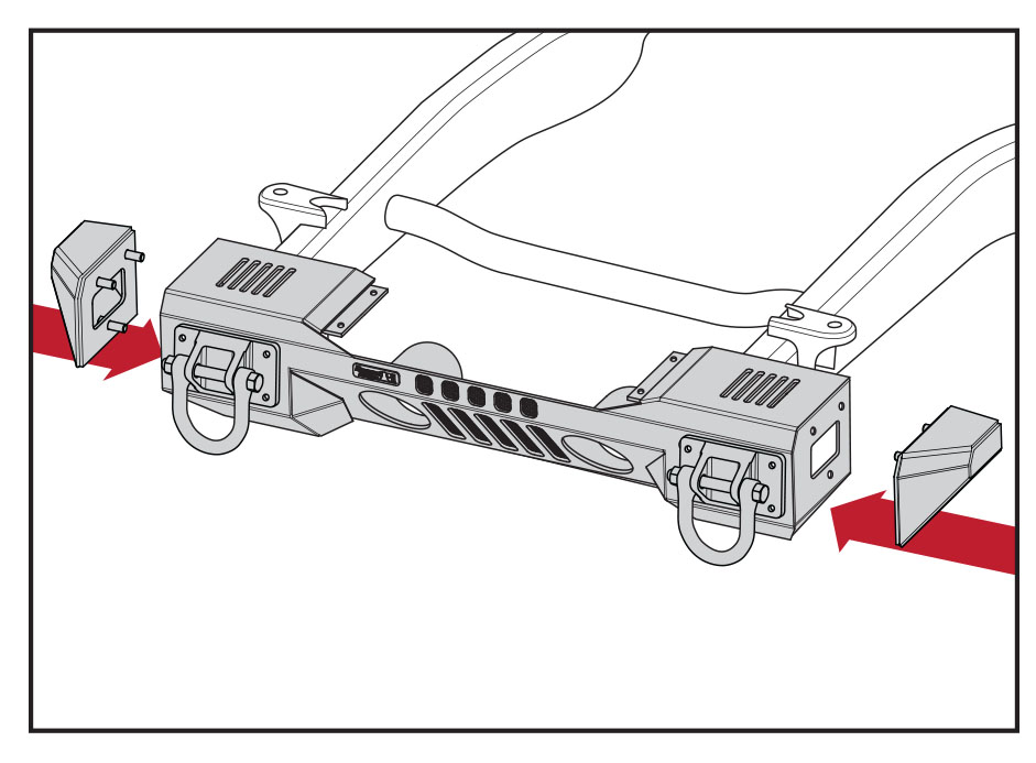 How to Install a Rugged Ridge Steel Front Winch Bumper on
