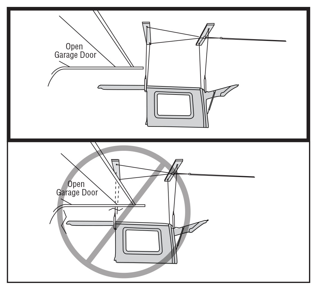How to Install a Harken Hoister Garage Storage 4-Point