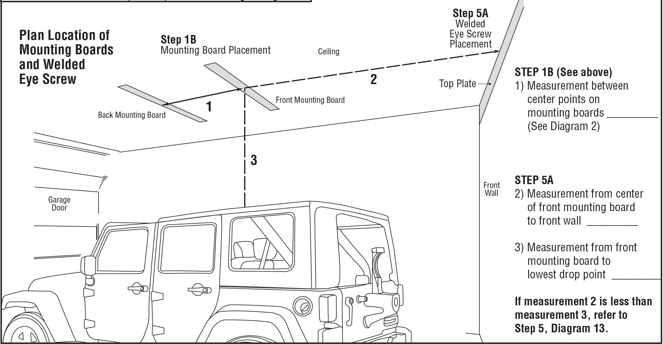Cozy How To Install A Harken Hoister Garage Storage 4 Point