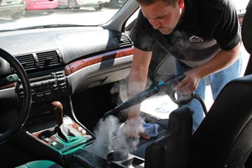 Mytee Firebird VS1500 Vapor Steamer Car Steam Cleaning