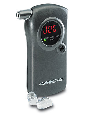 A sample Breathalyzer